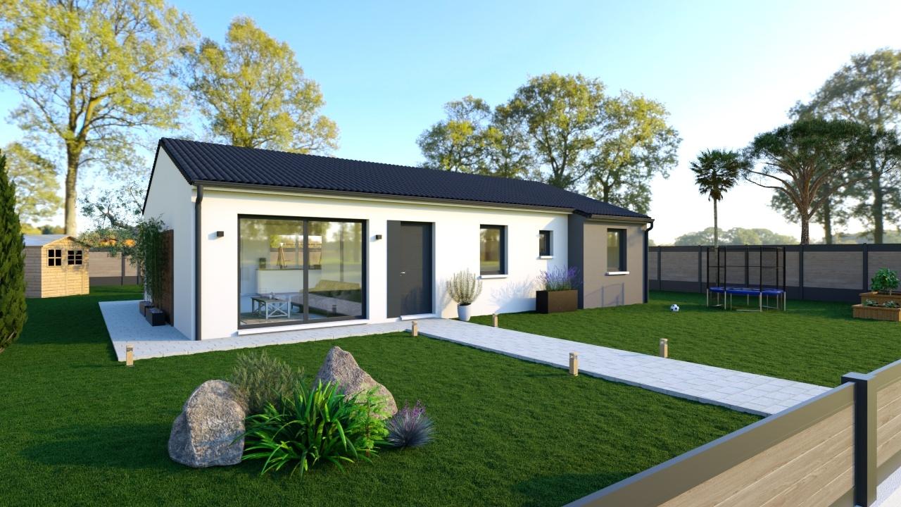 Maisons + Terrains du constructeur Maisons Phénix La Rochelle • 105 m² • LA CRECHE