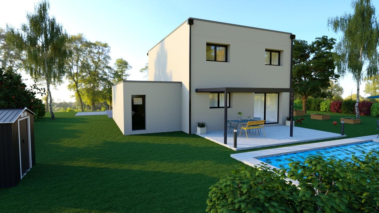 Maisons + Terrains du constructeur Maisons Phénix-67202-WOLFISHEIM • 132 m² • TRUCHTERSHEIM