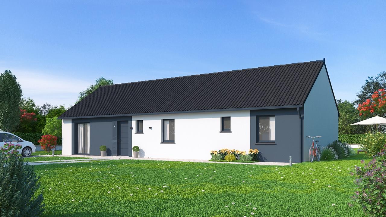 Maisons + Terrains du constructeur Maisons Phénix-67202-WOLFISHEIM • 118 m² • MARMOUTIER