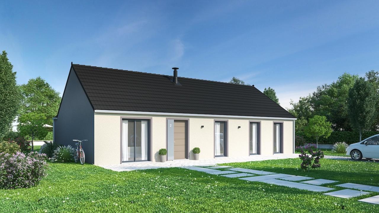 Maisons + Terrains du constructeur Maisons Phénix-67202-WOLFISHEIM • 128 m² • GUNDERSHOFFEN