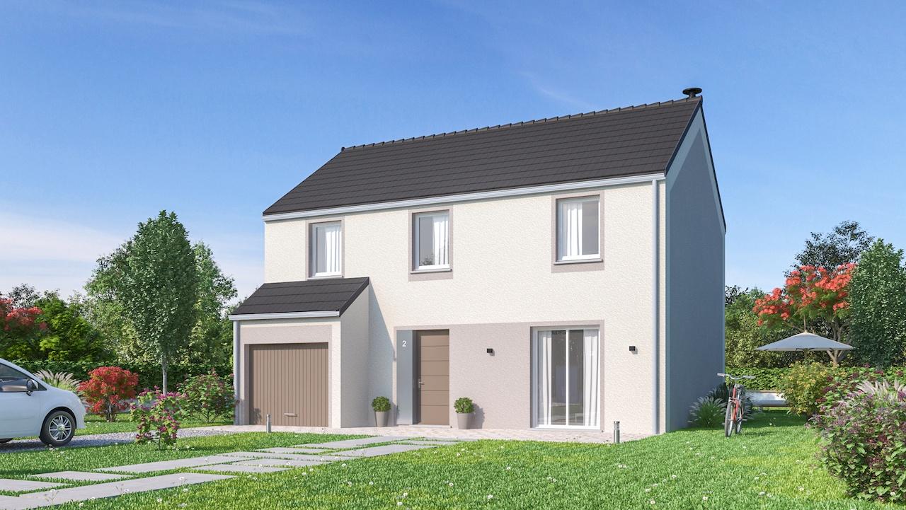 Maisons + Terrains du constructeur Maisons Phénix-67202-WOLFISHEIM • 116 m² • HUTTENHEIM