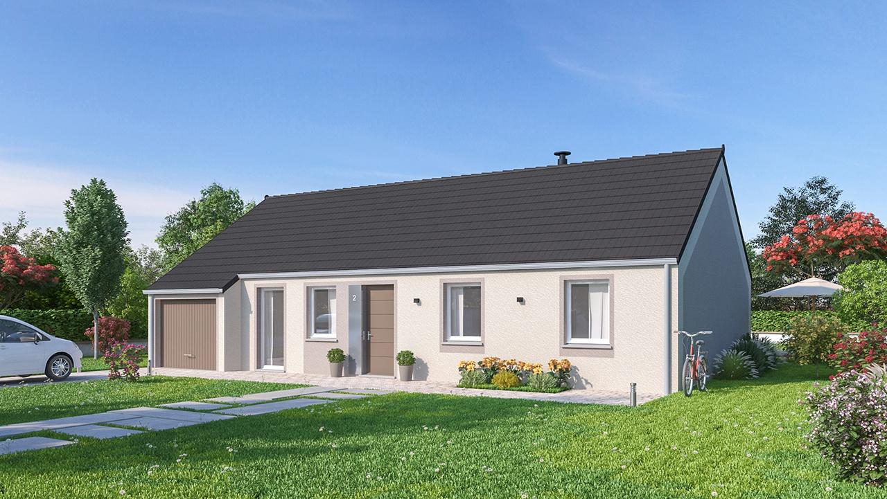 Maisons + Terrains du constructeur Maisons Phénix-67202-WOLFISHEIM • 102 m² • MARCKOLSHEIM