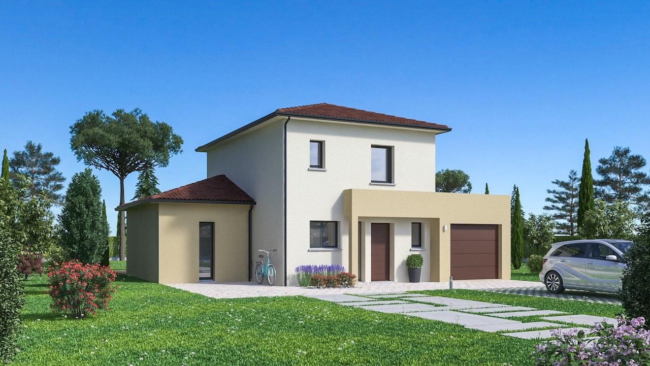 Maisons + Terrains du constructeur Maisons Phenix Decines Charpieu • 111 m² • SABLONS