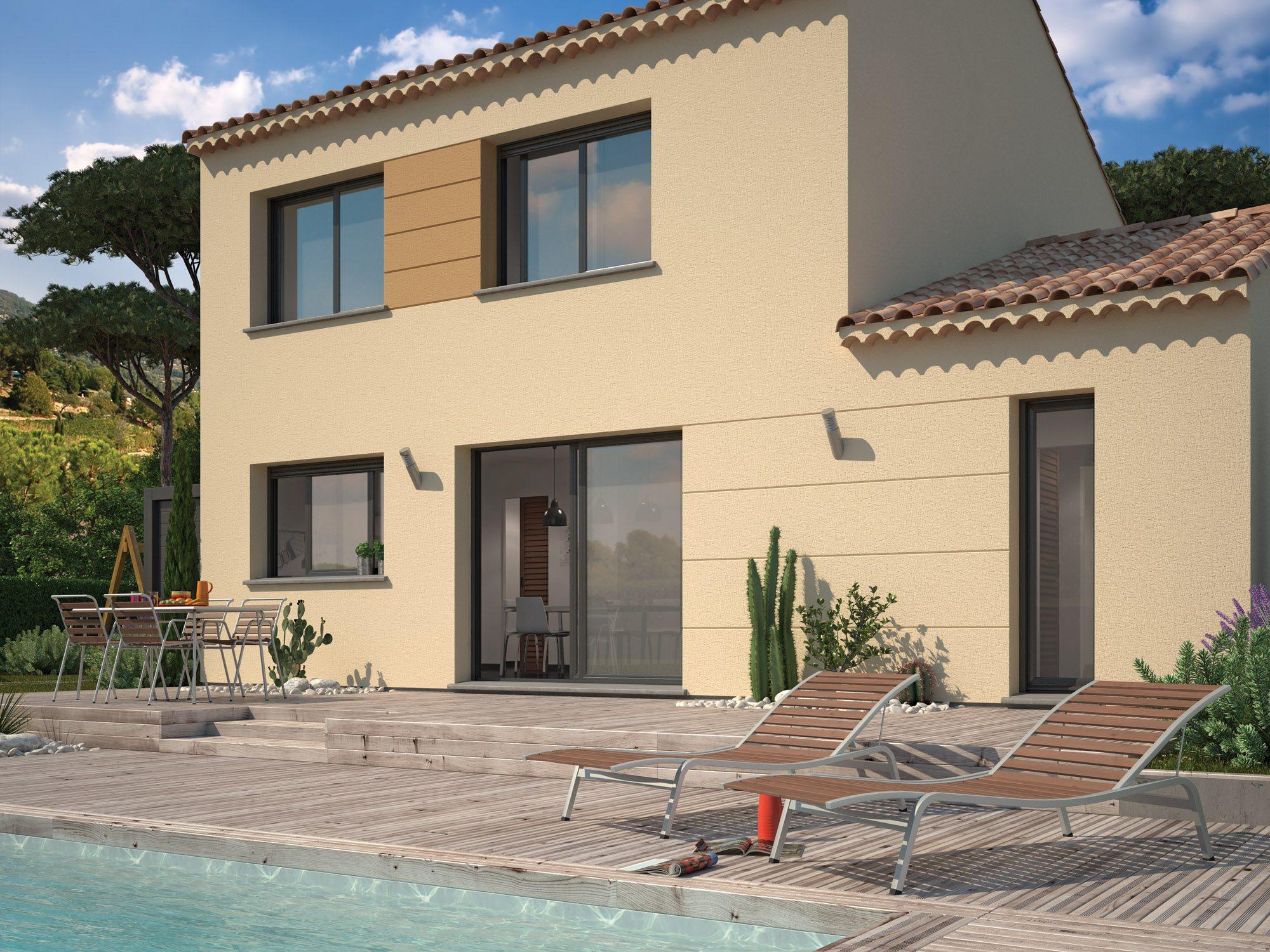 Maisons + Terrains du constructeur Maisons Phenix Decines Charpieu • 113 m² • ROUSSILLON
