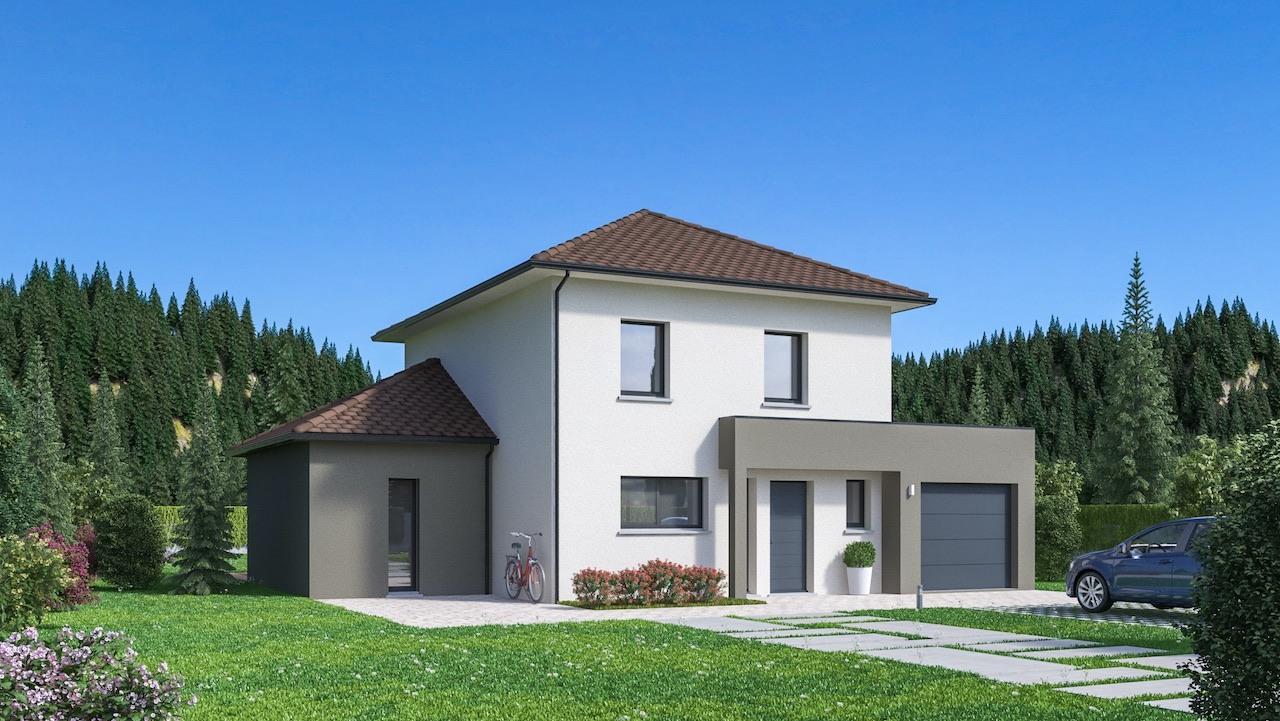 Maisons + Terrains du constructeur Maisons Phenix Decines Charpieu • 128 m² • SAINT HILAIRE DU ROSIER