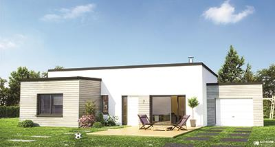 Maisons + Terrains du constructeur Maisons Phenix Decines Charpieu • 109 m² • SAINT HILAIRE DU ROSIER