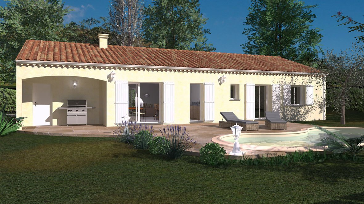 Maisons + Terrains du constructeur Maisons Phenix Decines Charpieu • 87 m² • SAINT ROMANS