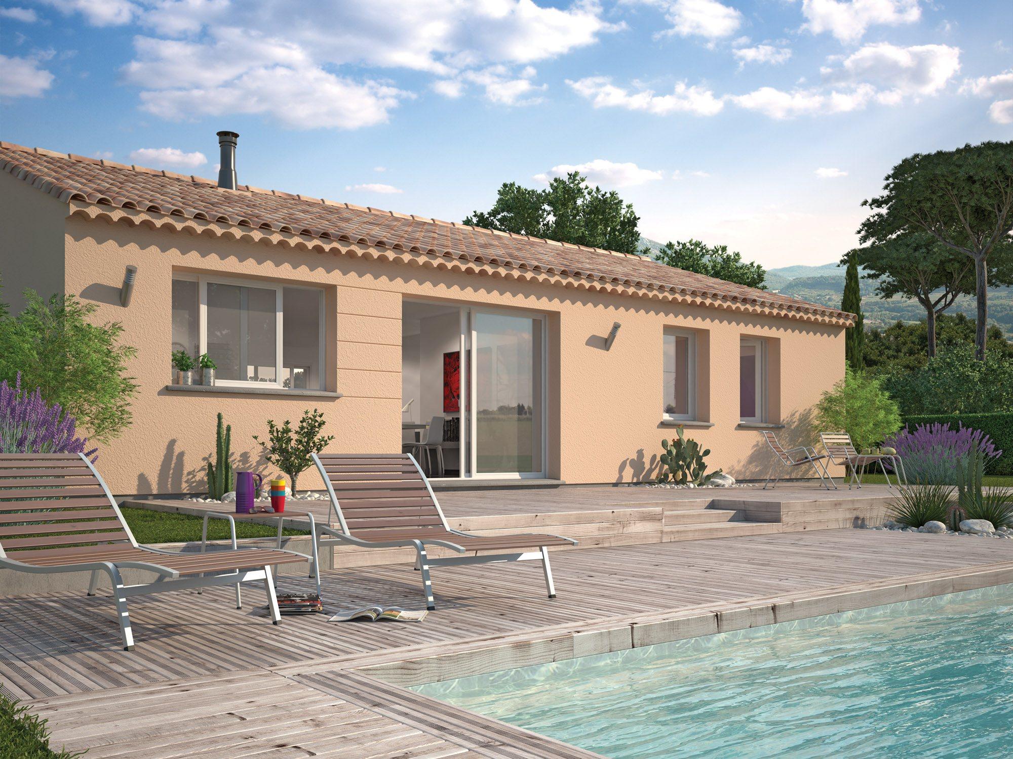 Maisons + Terrains du constructeur Maisons Phenix Decines Charpieu • 97 m² • SAINT MARCELLIN