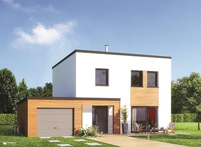 Maisons + Terrains du constructeur Maisons Phenix Decines Charpieu • 92 m² • VIENNE