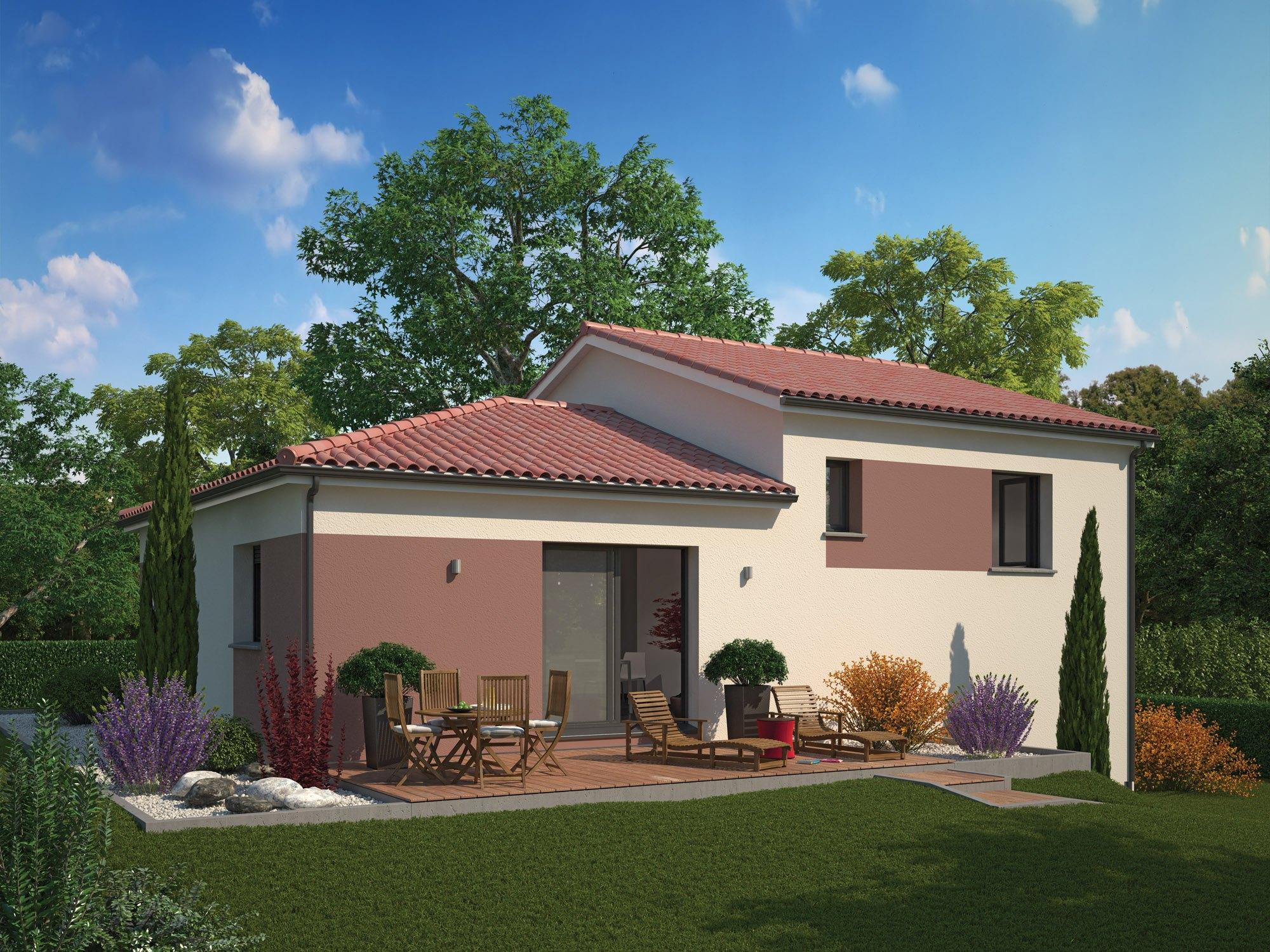 Maisons + Terrains du constructeur MAISON FAMILIALE • 100 m² • VILLEFRANCHE SUR SAONE