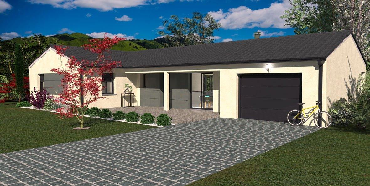 Maisons + Terrains du constructeur MAISON FAMILIALE • 86 m² • BEAUJEU