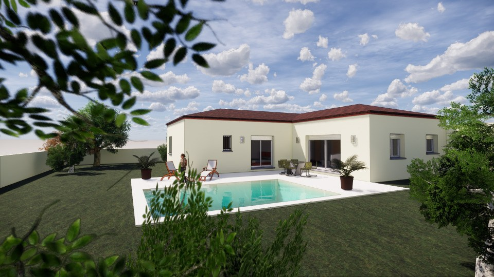 Maisons + Terrains du constructeur MAISONS BALENCY • 120 m² • VALERGUES