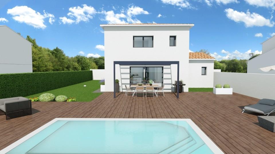 Maisons + Terrains du constructeur MAISONS BALENCY • 110 m² • SAINT MATHIEU DE TREVIERS