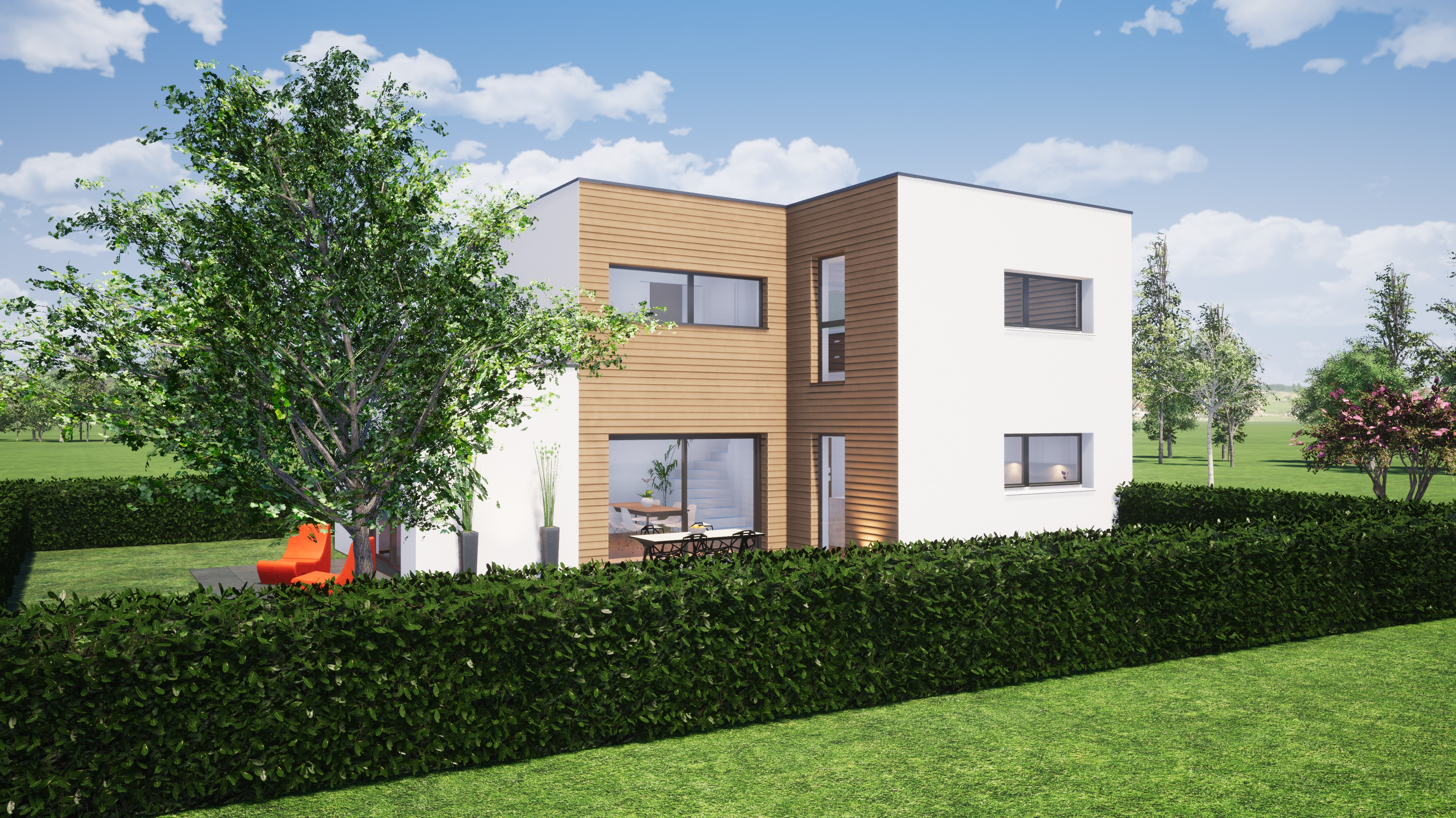 Maisons du constructeur EST IMMO • 126 m² • CHARLY ORADOUR