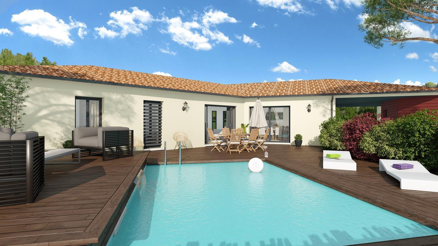 Maisons + Terrains du constructeur TRADIBAT CONSTRUCTION • 138 m² • NIMES
