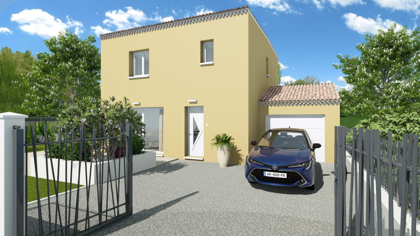 Maisons + Terrains du constructeur TRADIBAT CONSTRUCTION • 76 m² • VERGEZE