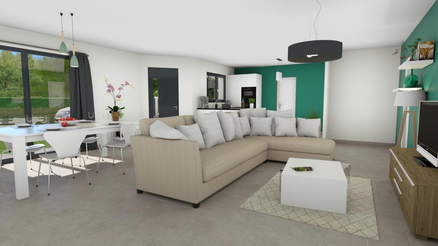 Maisons + Terrains du constructeur TRADIBAT CONSTRUCTION • 97 m² • MUS