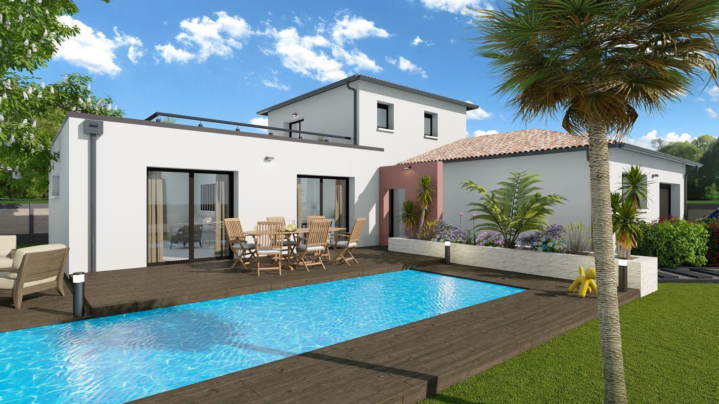 Maisons + Terrains du constructeur TRADIBAT CONSTRUCTION • 125 m² • UZES