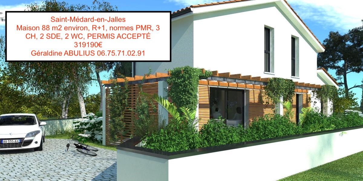 Maisons + Terrains du constructeur GIB CONSTRUCTION • SAINT MEDARD EN JALLES