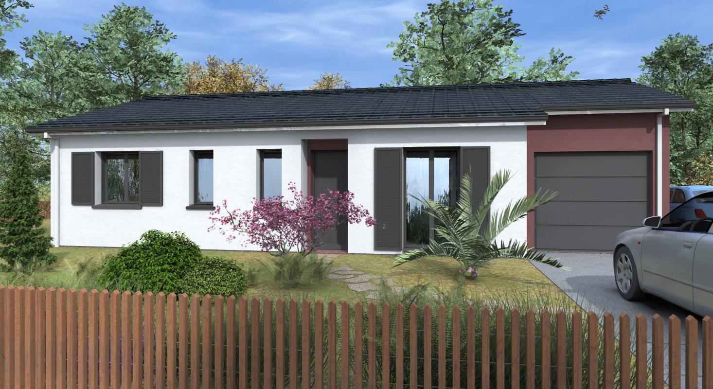 Maisons + Terrains du constructeur GIB CONSTRUCTION • 82 m² • LE BARP