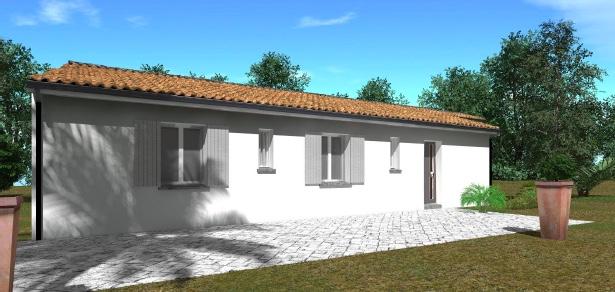 Maisons + Terrains du constructeur GIB CONSTRUCTION • 90 m² • SAINT SULPICE ET CAMEYRAC
