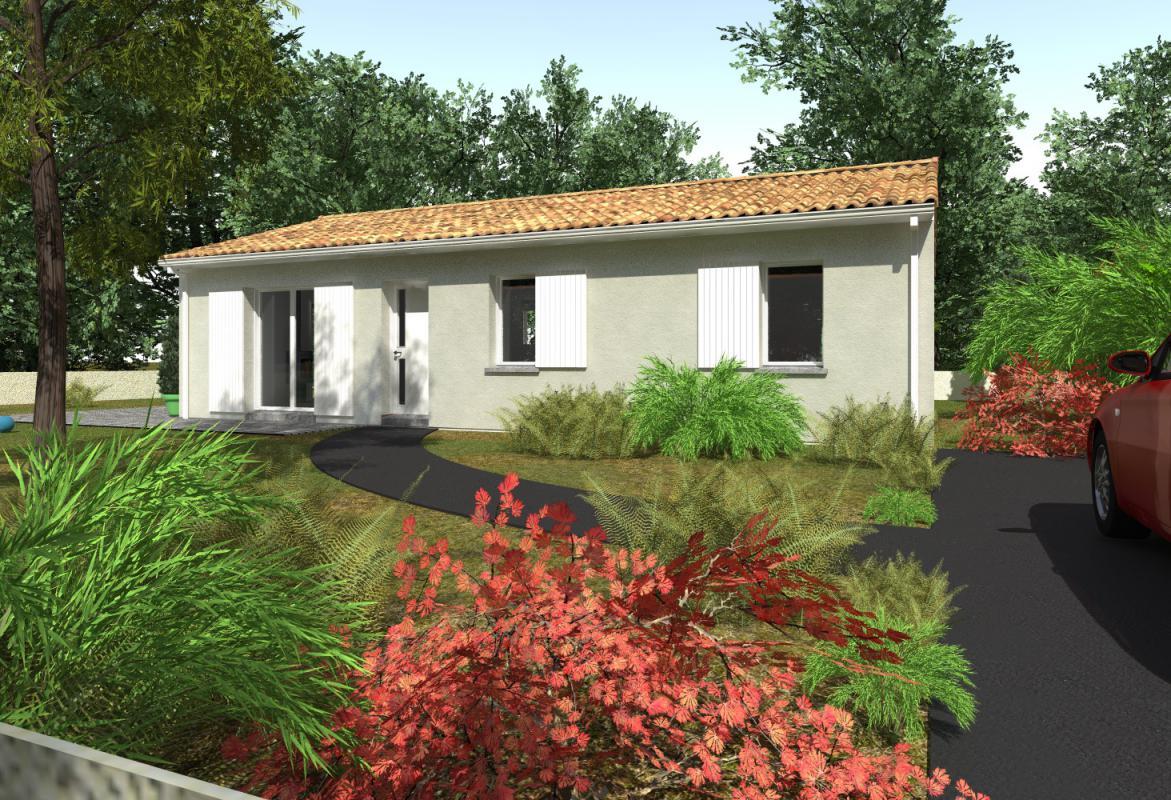 Maisons + Terrains du constructeur GIB CONSTRUCTION • 80 m² • SAINT AVIT SAINT NAZAIRE