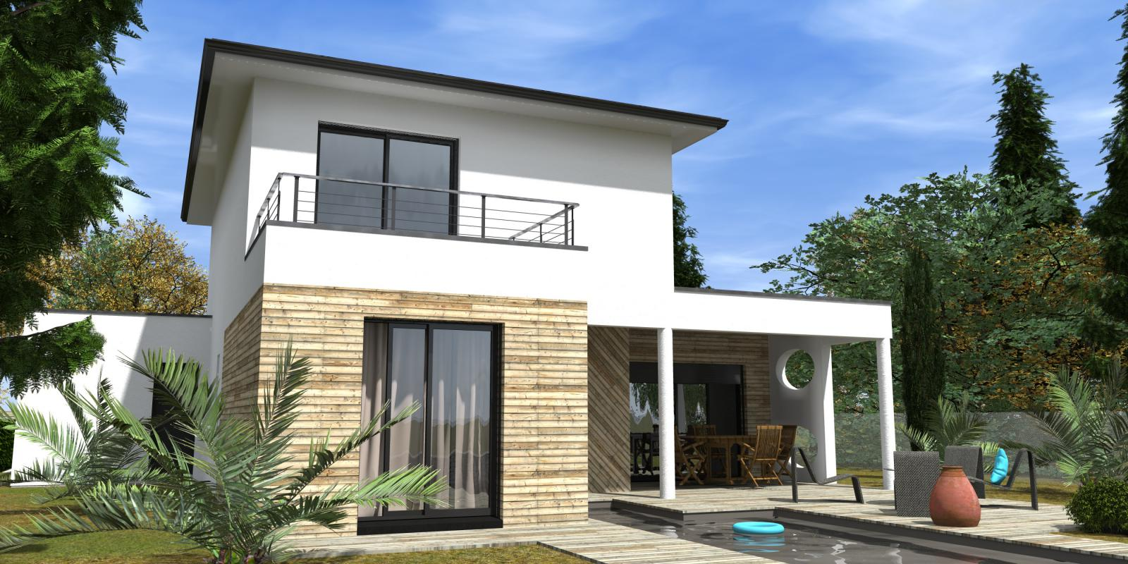 Maisons + Terrains du constructeur GIB CONSTRUCTION • 137 m² • GUJAN MESTRAS