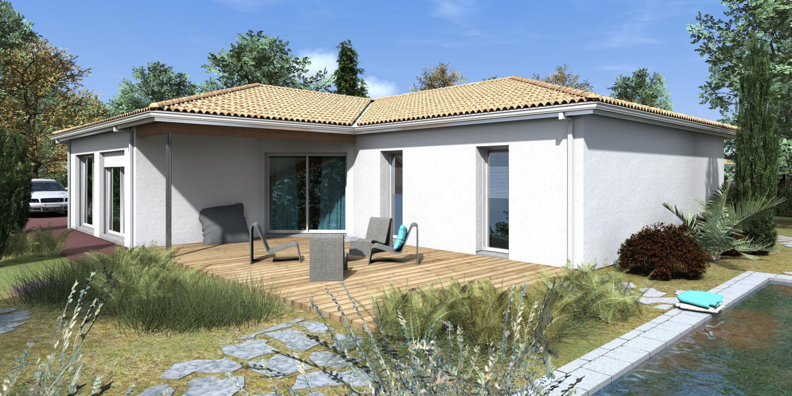 Maisons + Terrains du constructeur GIB CONSTRUCTION • 136 m² • CESTAS