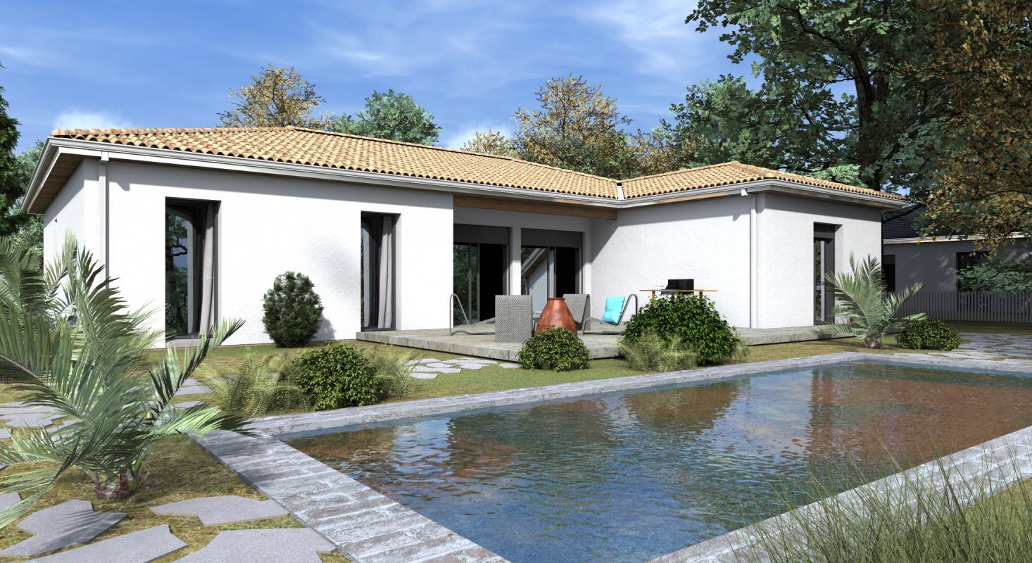 Maisons + Terrains du constructeur GIB CONSTRUCTION • 123 m² • LEOGNAN