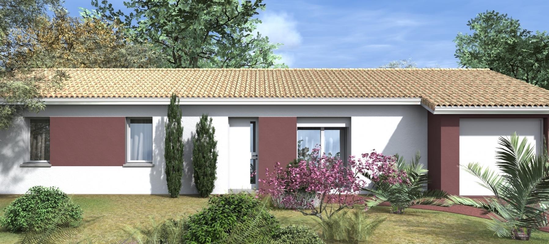Maisons + Terrains du constructeur GIB CONSTRUCTION • 95 m² • SAINT ANDRE DE CUBZAC