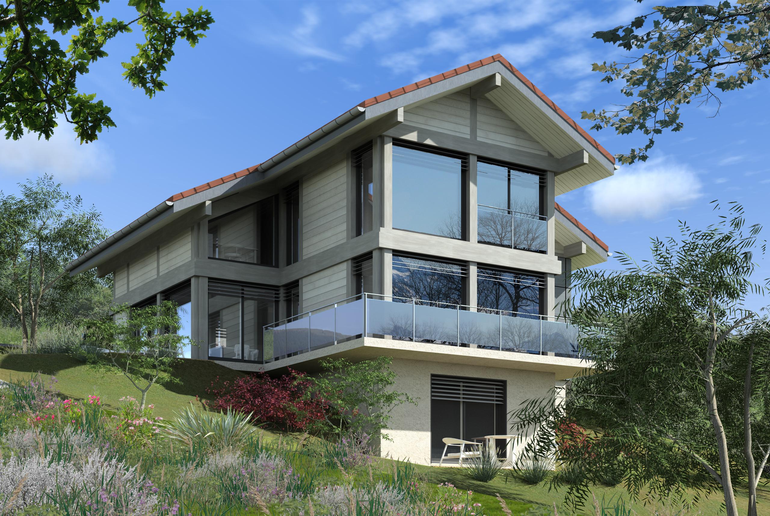 Maisons + Terrains du constructeur EDEN HOME • 156 m² • REIGNIER