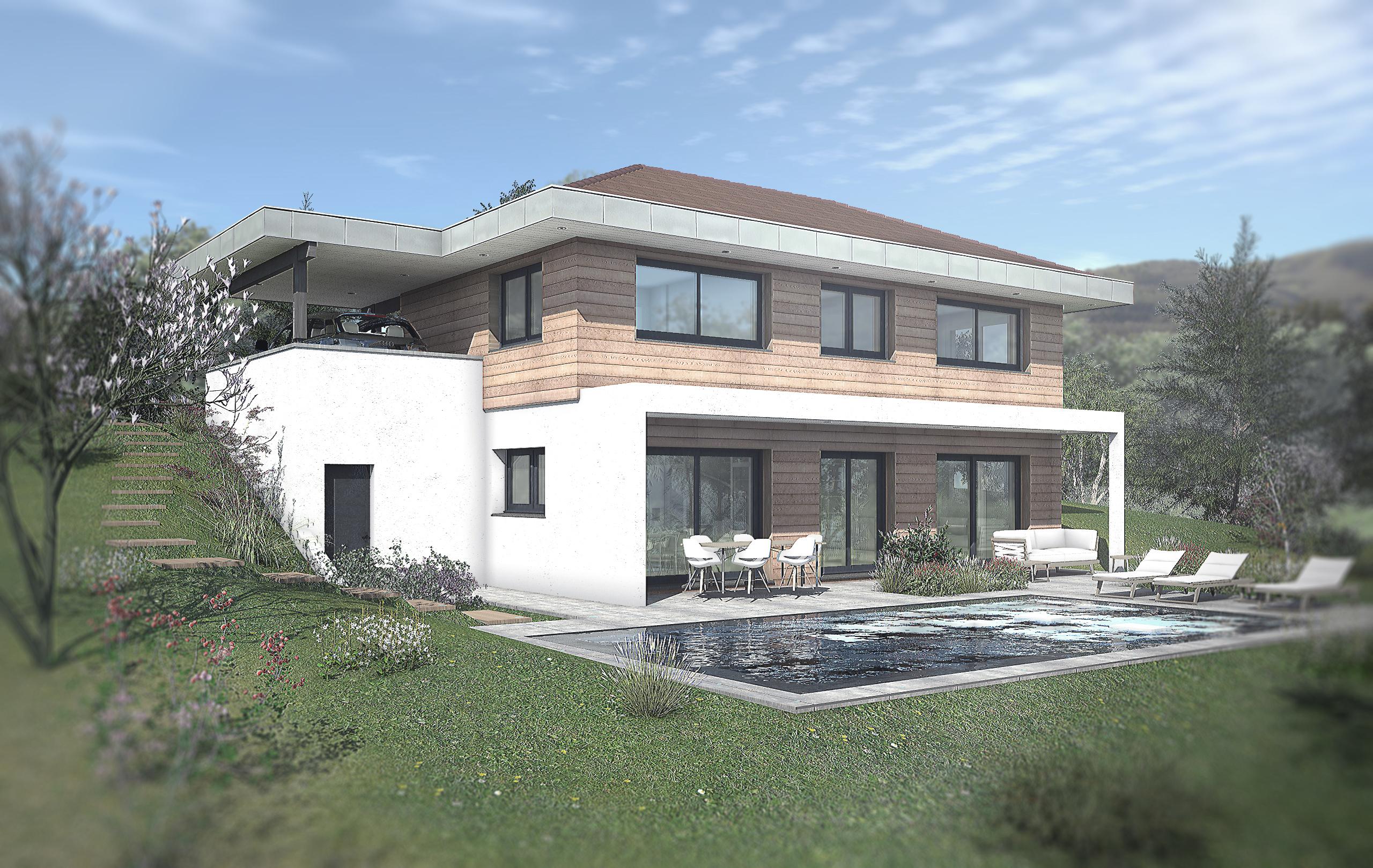 Maisons + Terrains du constructeur EDEN HOME • 118 m² • SAINT CERGUES