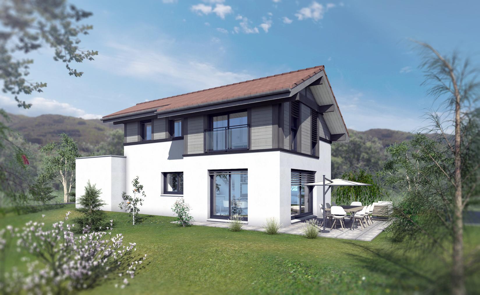Maisons + Terrains du constructeur EDEN HOME • 103 m² • VALLEIRY