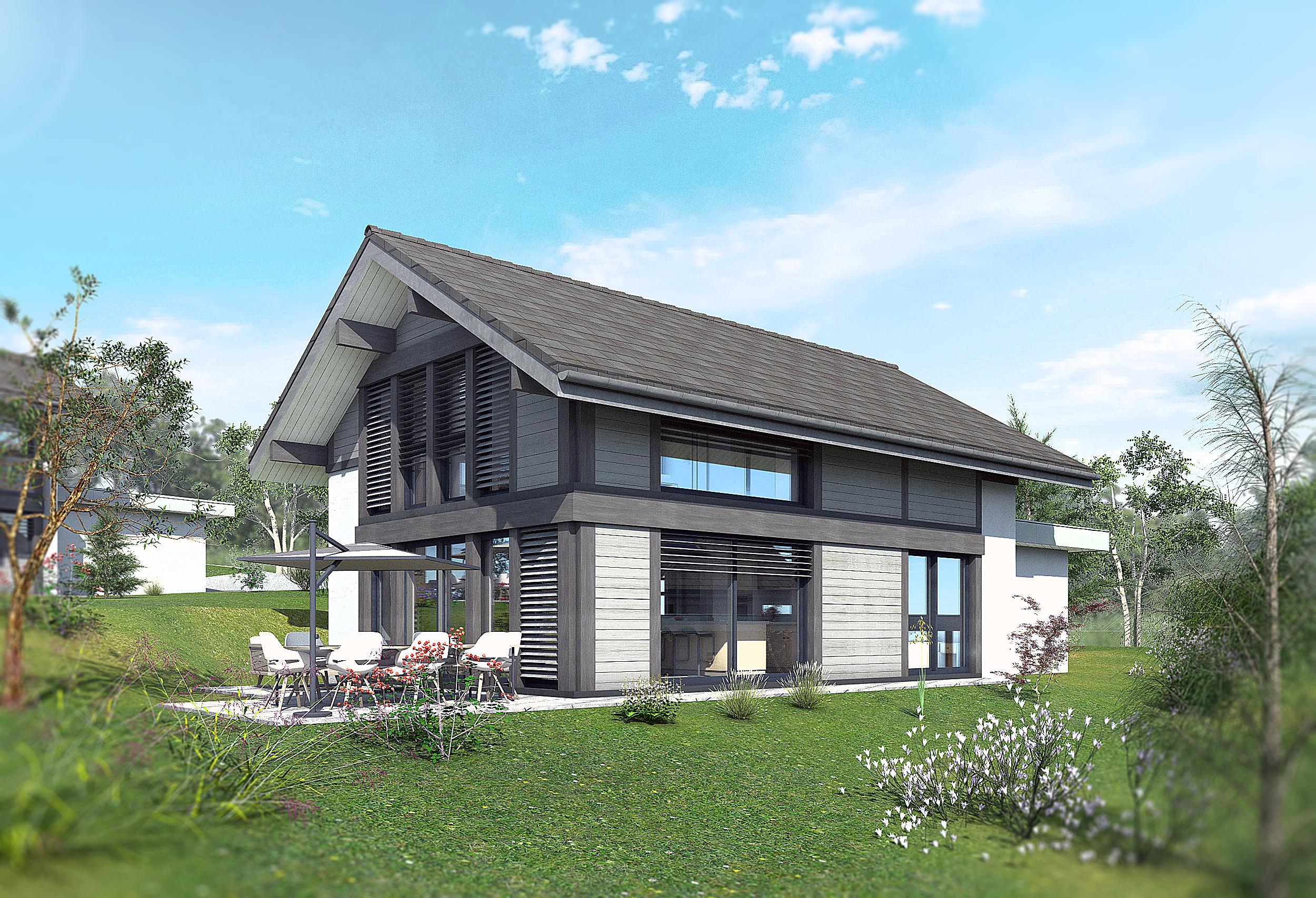 Maisons + Terrains du constructeur EDEN HOME • 128 m² • SEYNOD