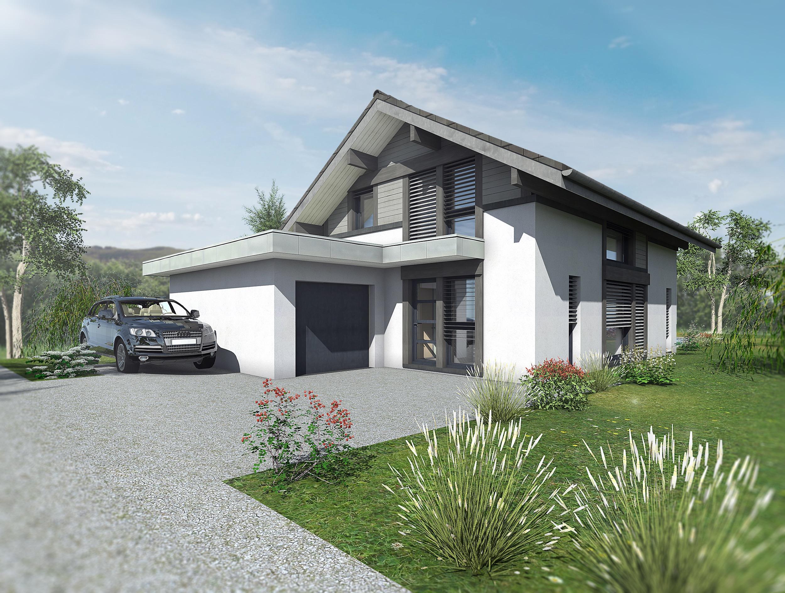 Maisons du constructeur EDEN HOME • 128 m² • THONON LES BAINS