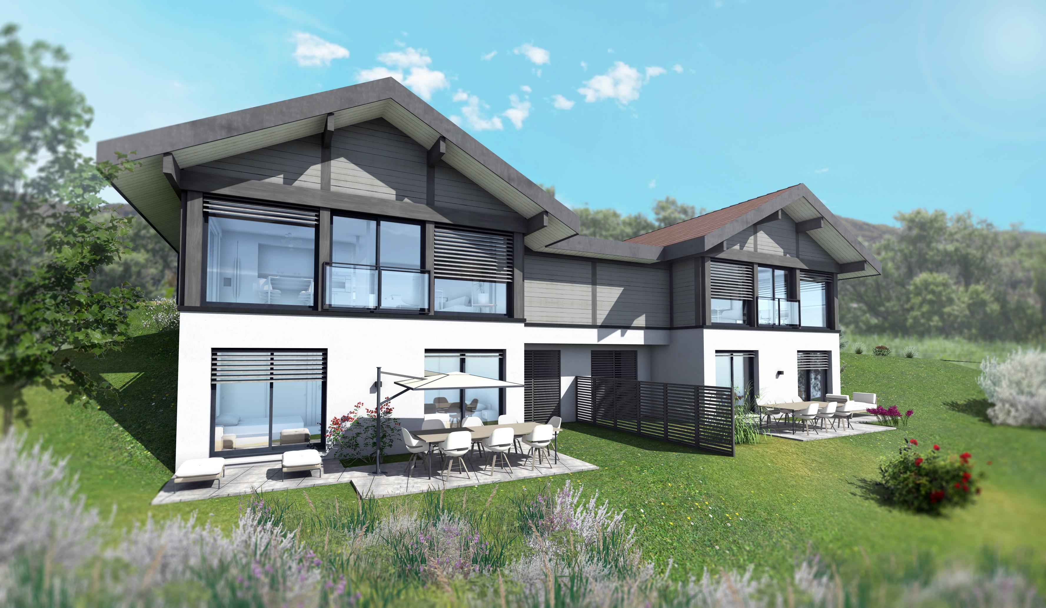 Maisons du constructeur EDEN HOME • 97 m² • ARGONAY