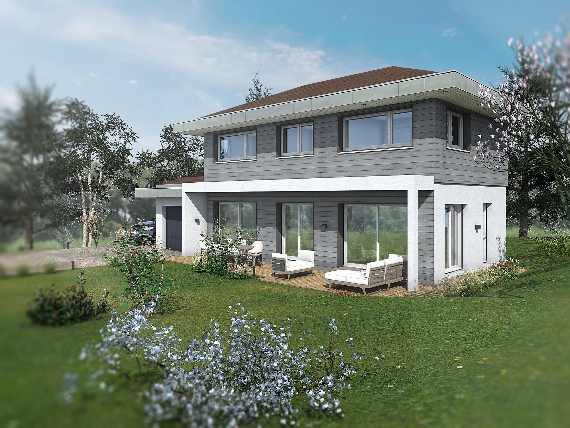 Maisons du constructeur EDEN HOME • 108 m² • THONON LES BAINS