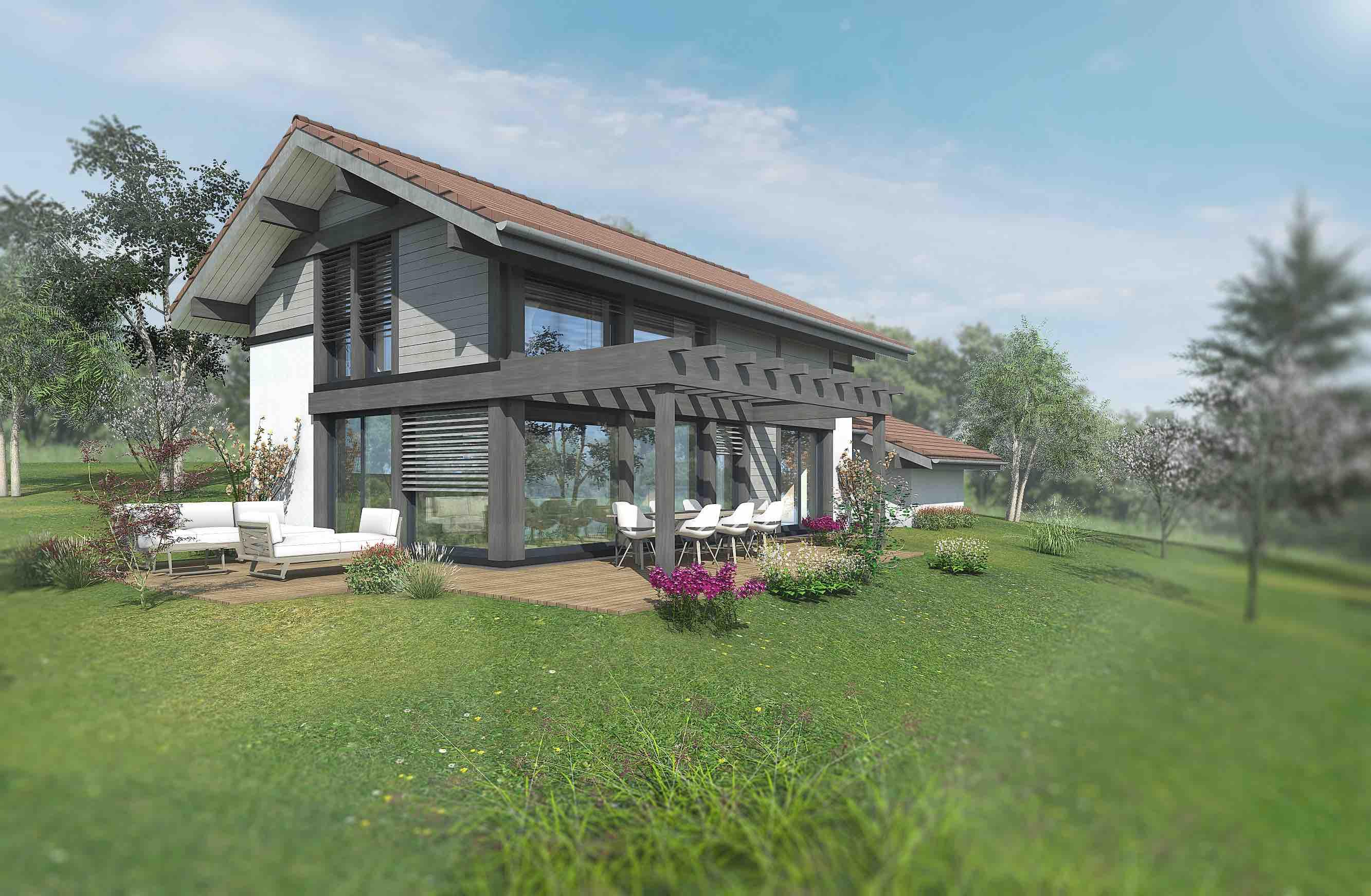 Maisons du constructeur EDEN HOME • 131 m² • CUVAT