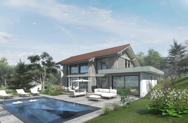 Maisons du constructeur EDEN HOME • 150 m² • PREVESSIN MOENS