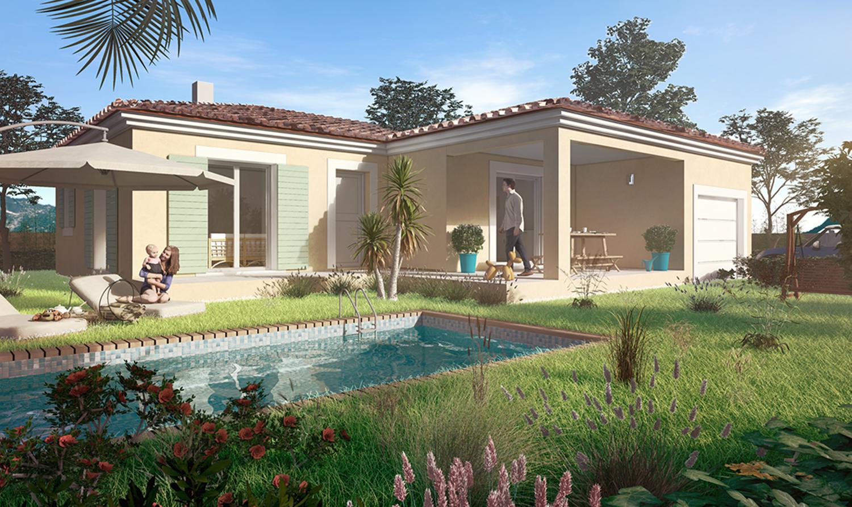 Maisons + Terrains du constructeur PYRAMIDE CONSTRUCTION • 96 m² • CASTELNAU LE LEZ