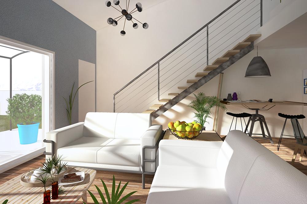 Maisons + Terrains du constructeur PYRAMIDE CONSTRUCTION • 83 m² • VALERGUES