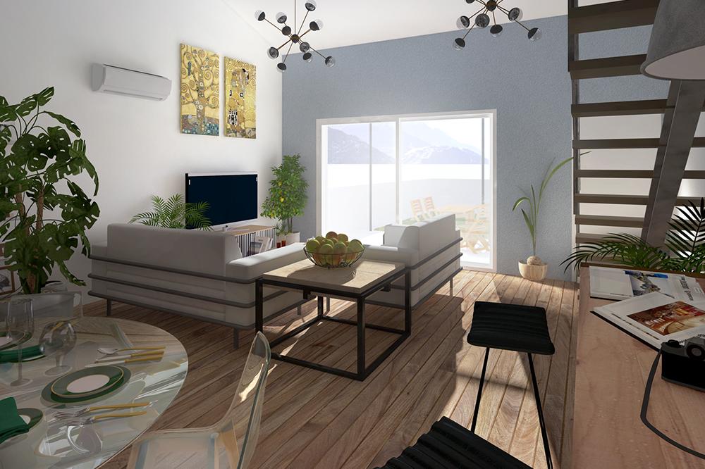 Maisons + Terrains du constructeur PYRAMIDE CONSTRUCTION • 83 m² • PRADES LE LEZ