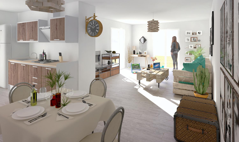 Maisons + Terrains du constructeur PYRAMIDE CONSTRUCTION • 96 m² • PRADES LE LEZ