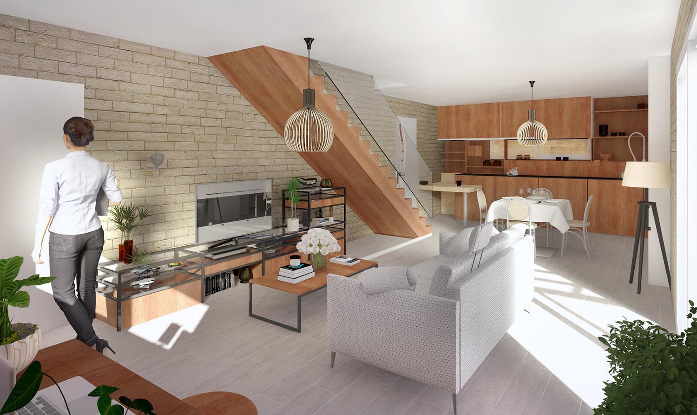Maisons + Terrains du constructeur PYRAMIDE CONSTRUCTION • 93 m² • PRADES LE LEZ