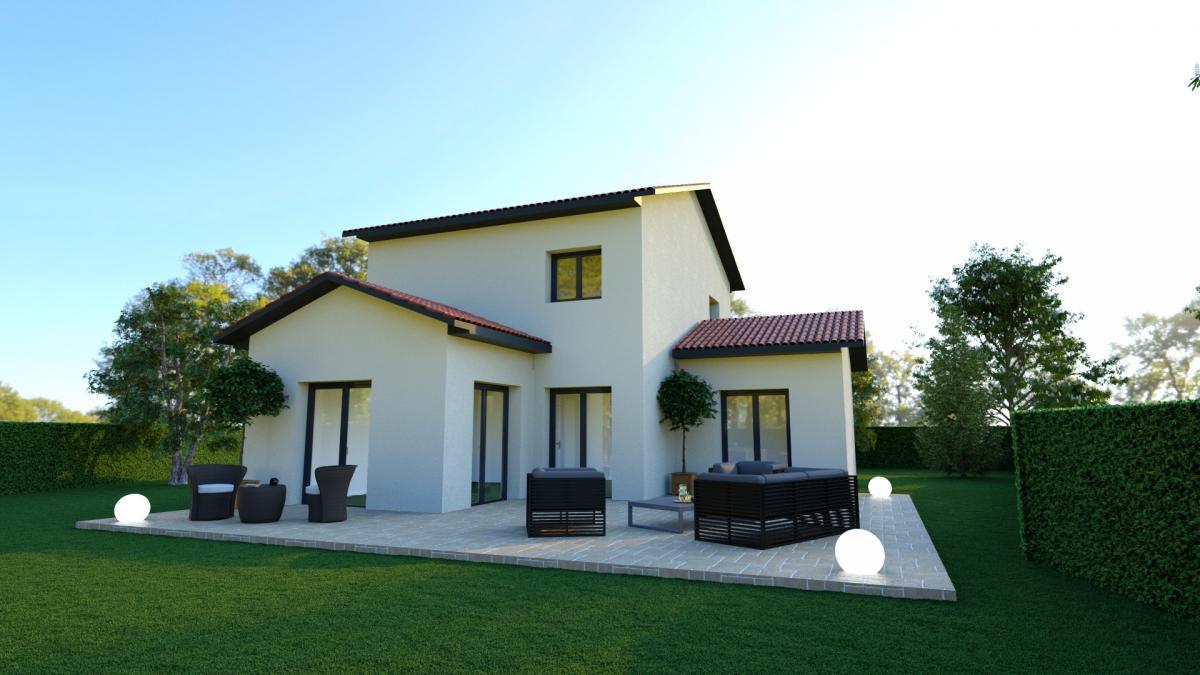 Maisons du constructeur TRADICONFORT 69 • 100 m² • SOUCIEU EN JARREST