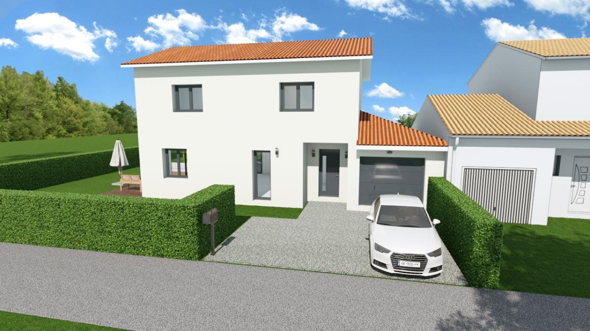 Maisons du constructeur TRADICONFORT 69 • 110 m² • QUINCIEUX