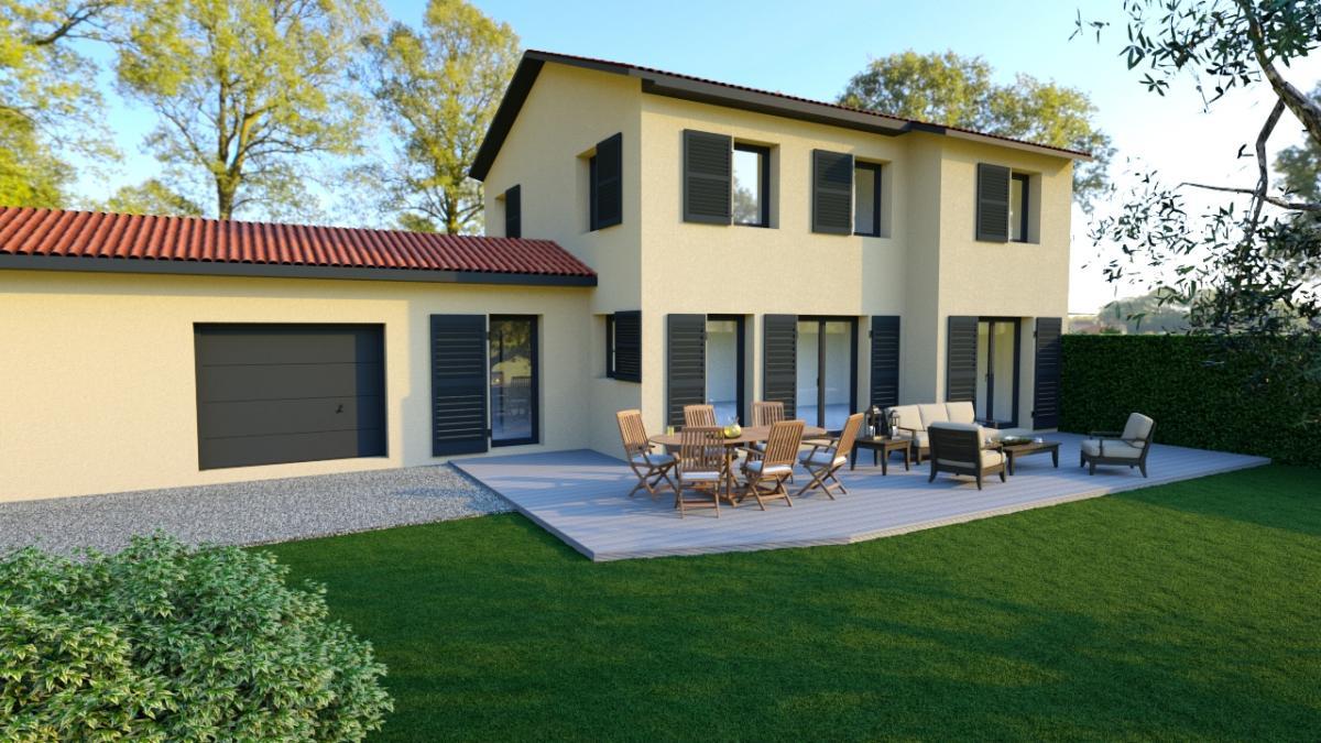 Maisons du constructeur TRADICONFORT 69 • 130 m² • COGNY