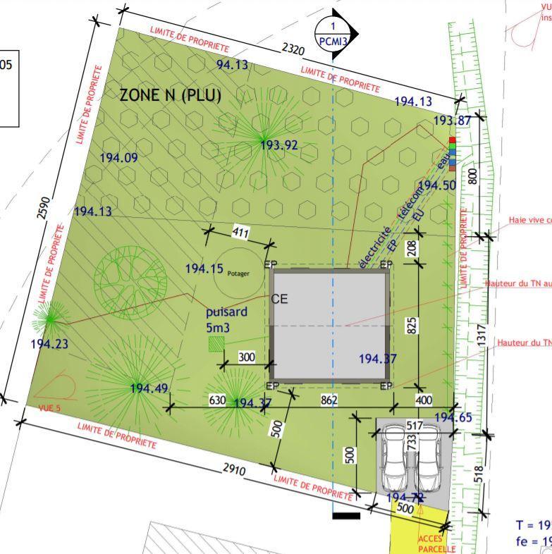 Terrains du constructeur TRADICONFORT 69 • 667 m² • CHUZELLES