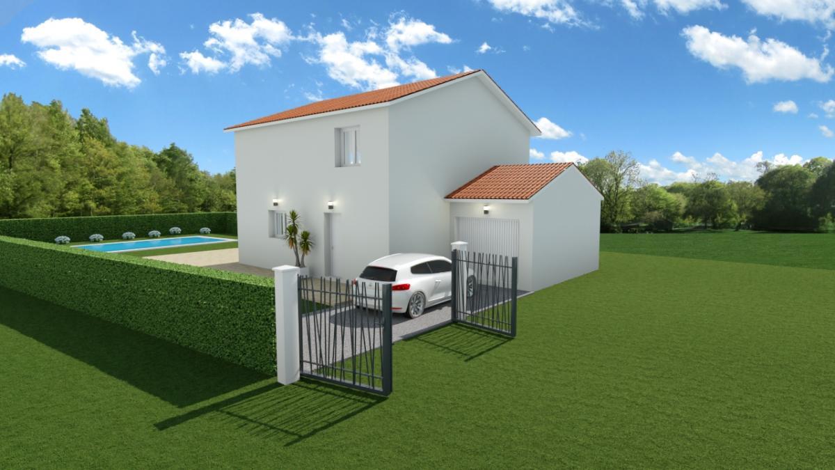 Maisons du constructeur TRADICONFORT 69 • 95 m² • AMPUIS