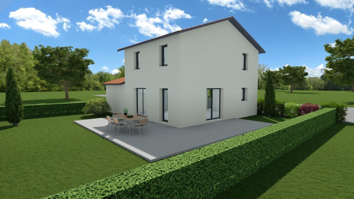 Maisons du constructeur TRADICONFORT 69 • 91 m² • LIMAS